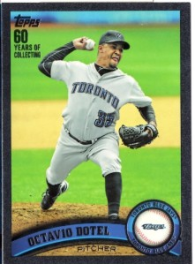 '11 Topps Series 2 black parallel