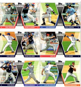 '11 Topps Series 2 Diamond Duos