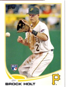 '13 Topps Series1 Brock Holt