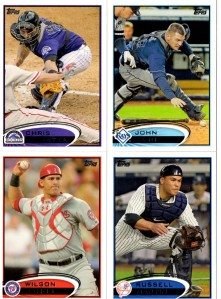 2012 Series 1 Catchers