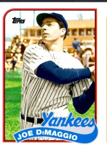 2014 Topps Archives Set-DiMaggio