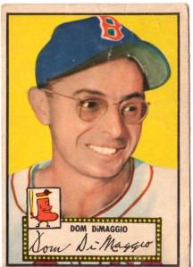 '52 Topps DiMaggio