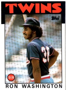 '86 Topps Ron Washington