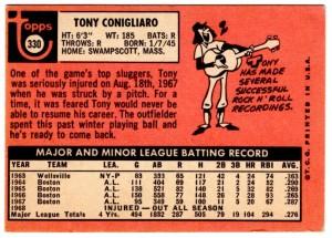 1969 Topps Tony C-Back