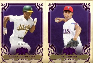 2013 Topps Triple Threads- Purple