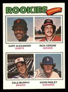 Rookies-(Gary-Alexander-Rick-Cerone-Dale-Murphy-Kevin-Pasley)