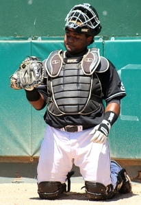 Pablo Sandoval catcher