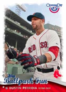2013-Topps-Opening-Day-Baseball-Ballpark-Fun-Dustin-Pedroia